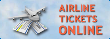 Airline tickets booking online