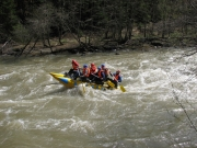 Rafting on the Cheremosh river