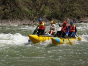 Rafting on the Cheremosh river, spring 2010